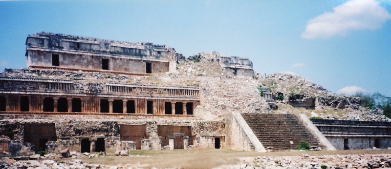 Развалины Chichen Itza