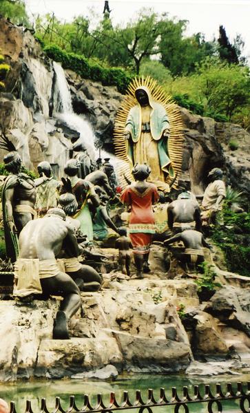 Мехико. Храм Maria de Guadelupa